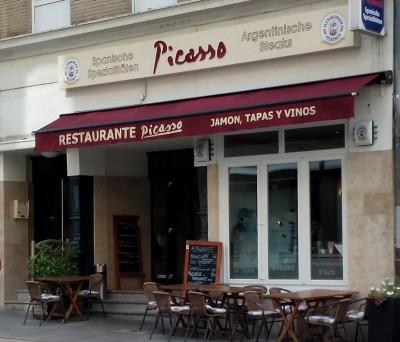 Restaurant Picasso außen