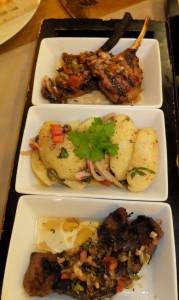 Meze Lamm und Kartoffelsalat