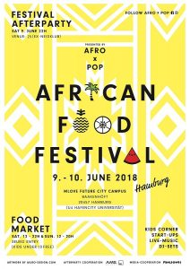 African food festival Poster